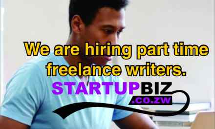 We are hiring part time freelance writers – Join us in building the biggest business blog in Zimbabwe