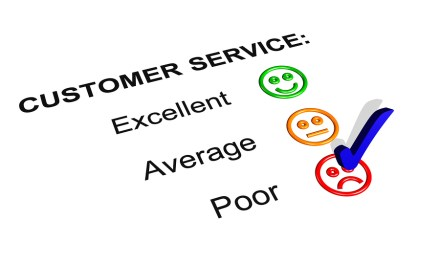 Why is customer service poor in Zimbabwe?