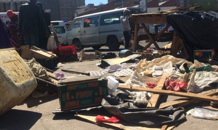 Vendors stalls destroyed, tough times for Zimbabweans.