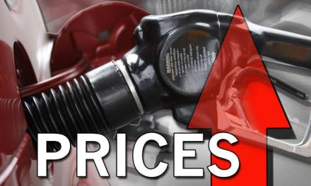Expected fuel price increase confirmed.