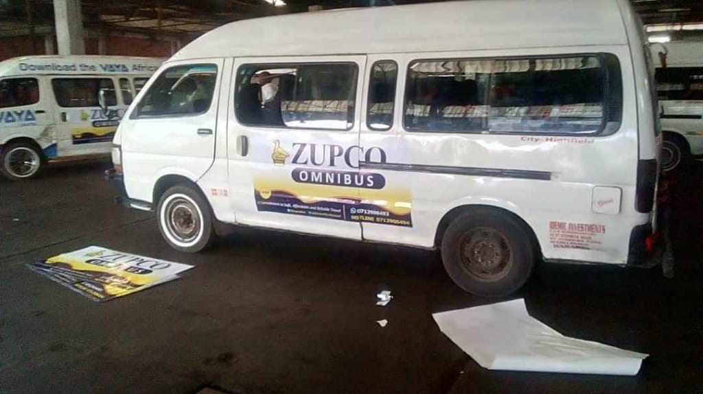 Desperate kombis use fake ZUPCO stickers to get back on the road
