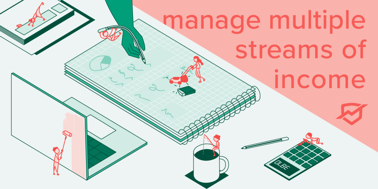 Tips for managing multiple streams of income