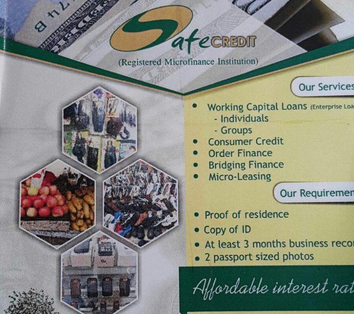 StartupBiz Zimbabwe Small Business Interview: Safe Credit PL, Micro-finance Industry
