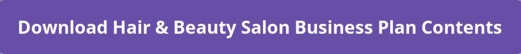 Hair & Beauty Salon Business Plan PDF