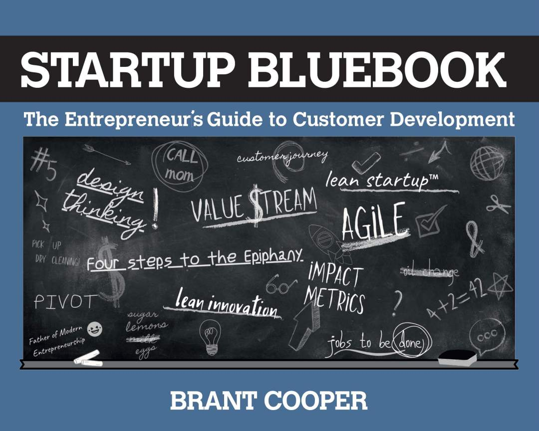 Startup bluebook cover