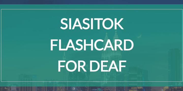 Siasitok Flashcard For Deaf
