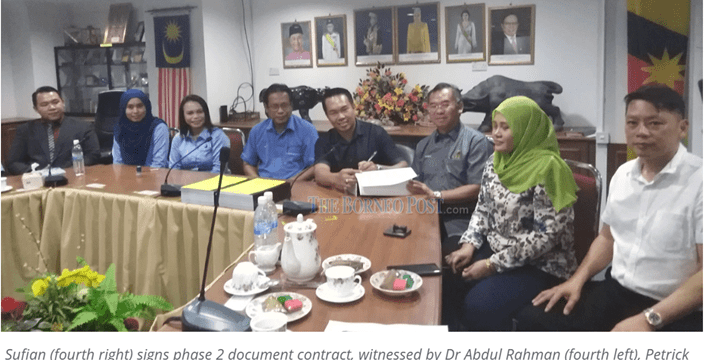 'Limbang Waterfront project to be completed by 2021'