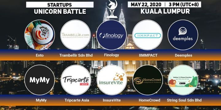10 STARTUPS that will be presented at the Unicorn Battle in Kuala Lumpur: