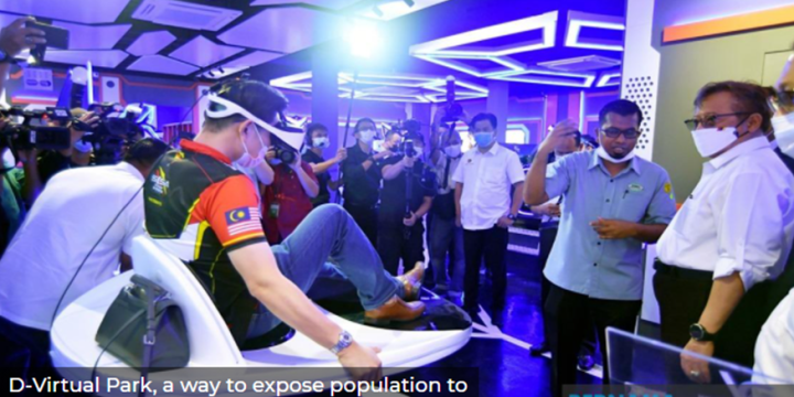 D-Virtual Park, a way to expose population to technology, digital innovation — Sarawak CM