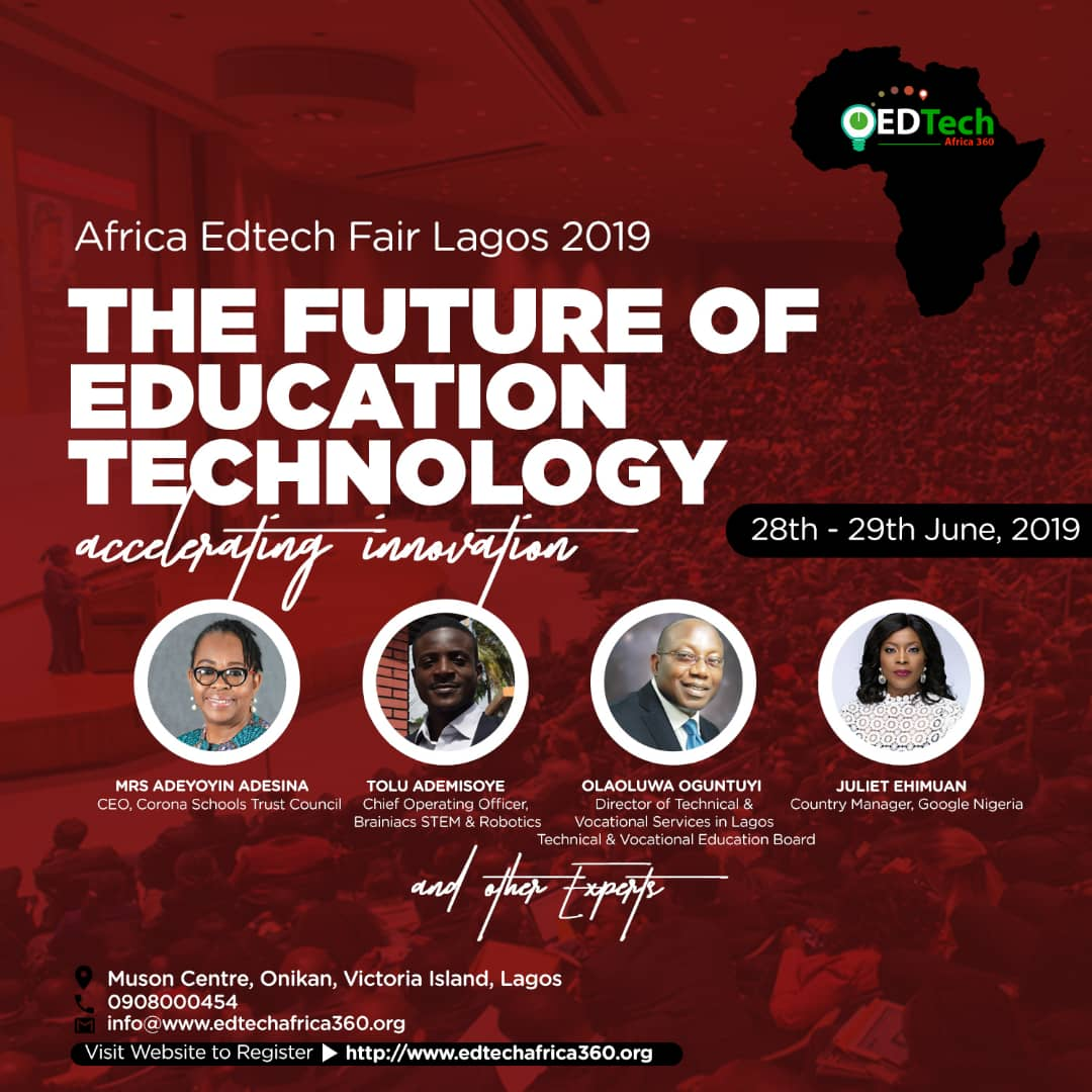 5 Reasons why you should attend the Africa Edtech Lagos 2019 Conference