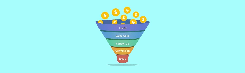 sales funnel banner - lead generation strategies