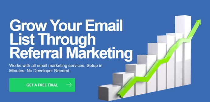 Entice screenshot – Referral Viral Marketing Software - StartupDevKit