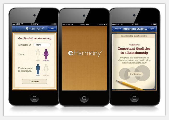eharmony dating app download