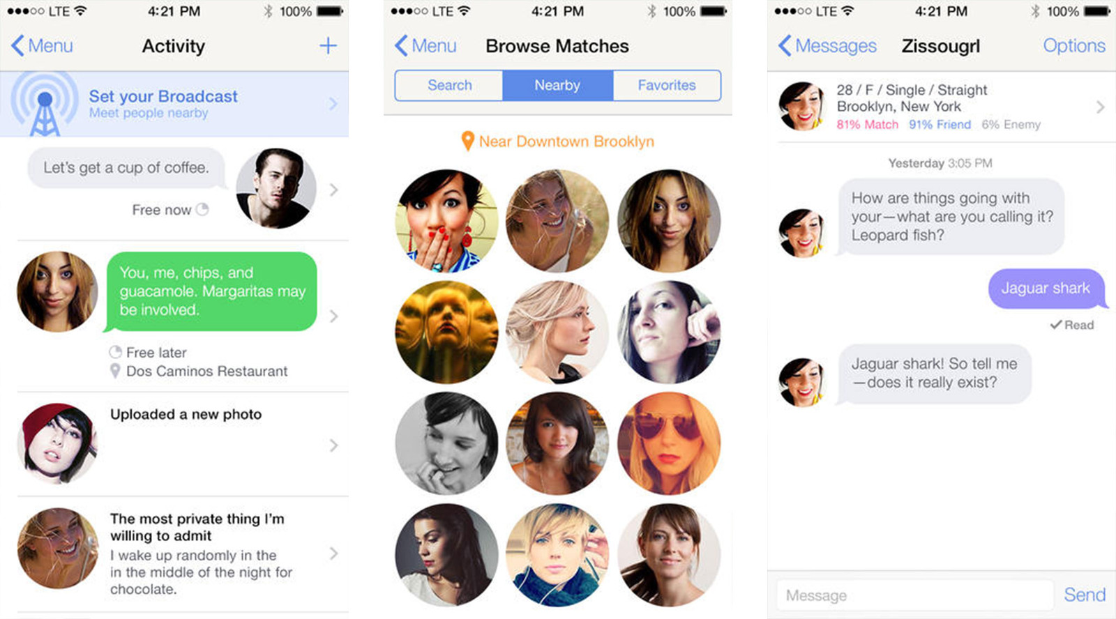 pure dating app 2015