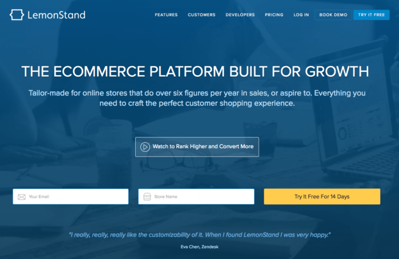 Grow Your eCommerce Business With LemonStand!