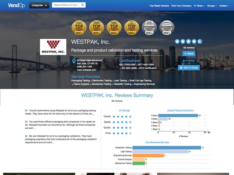 Westpack Profile 1024