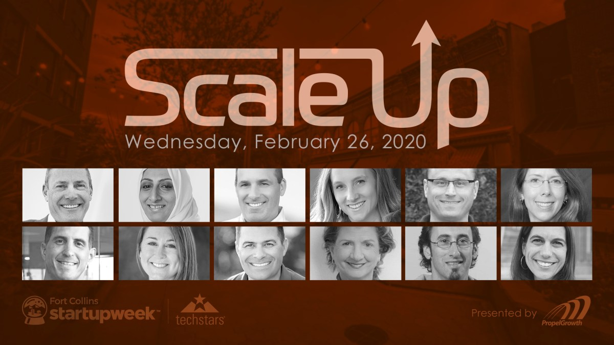 ScaleUp Startup Week Fort Collins