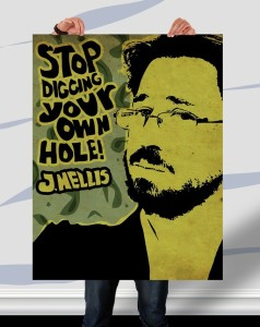 Jason Nellis - Stop Digging Your Own Hole - by Mr. Wonderful