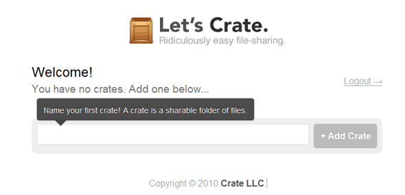 Crate-Featured on StartUpLift
