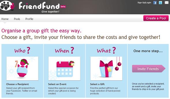 FriendFund -Startup featured on  Startuplift