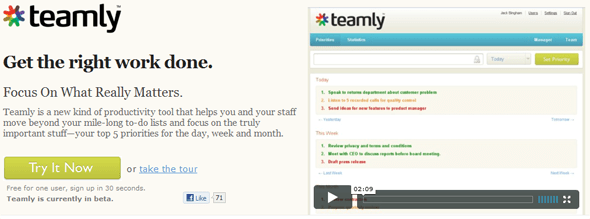 Teamly- Featured on StartUpLift
