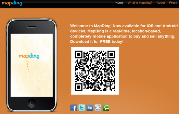 mapding -  Featured on StartUpLift