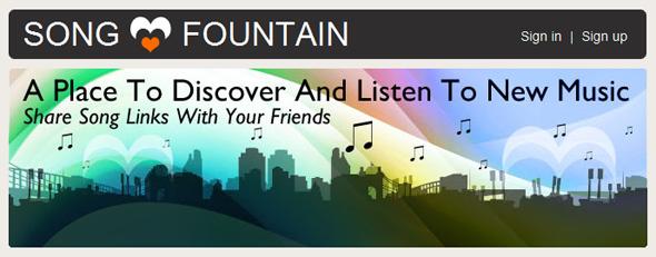 songfountain - Featured on StartUpLift