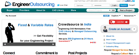 Engineering Outsourcing - Startup Featured on StartUpLift