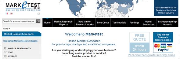 Mraketest - Market Research - Featured on StartUpLift