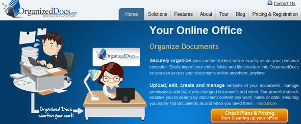 OrganizedDocs - Featured on StartUpLift