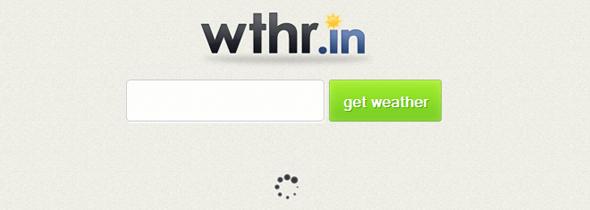 wthr.in - Startup Featured on StartUpLift