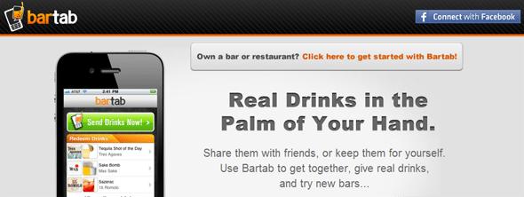 Bartab - StartUp Featured on StartUpLift