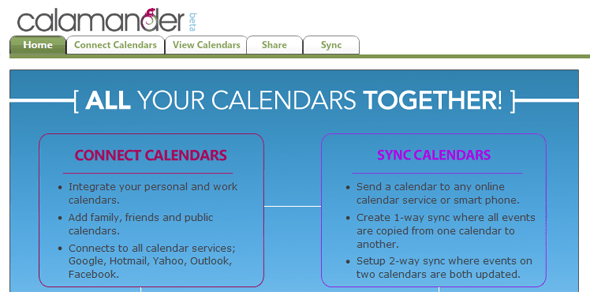 Calamander - Startup Featured on StartUpLift- Calendar