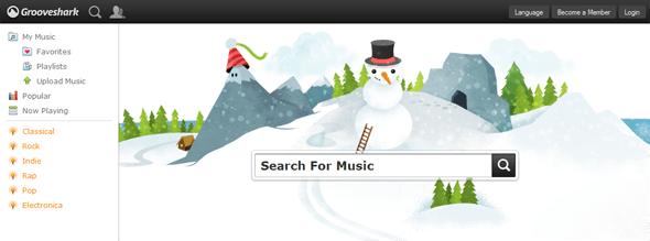 Grooveshark - Startup Featured on StartUpLift