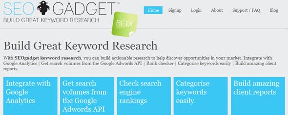 SEOgadget Tools - Startup Featured on StartUpLift