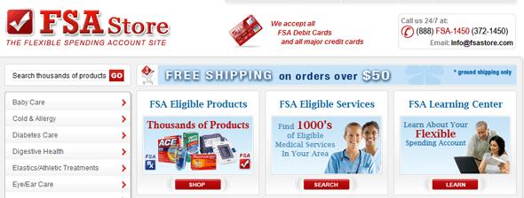 FSAStore.com - startup featured on startuplift
