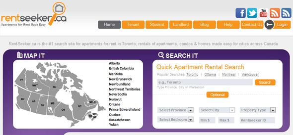 RentSeeker.ca - StartUp Featured on StartUpLift