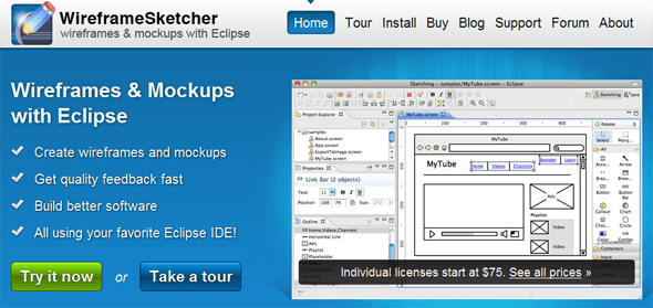 WireframeSketcher - Startup featured on StartUpLift