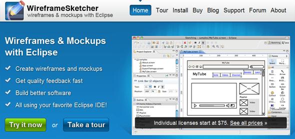 WireframeSketcher - Startup featured on StartUpLift