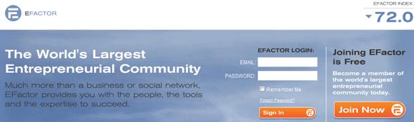 eFactor - StartUp Featured on StartUpLift