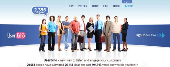 UserEcho - Startup Featured on StartUpLift