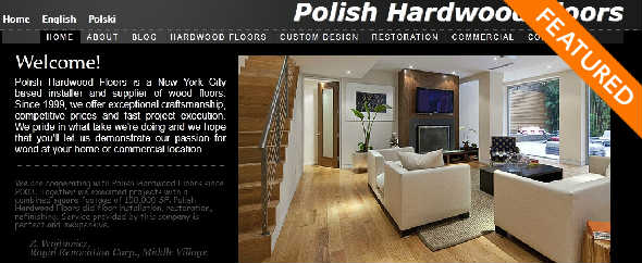 PolishHardwoodFloors Startup Featured on StartUpLift