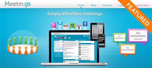 Meeting.gs - startup featured on StartUpLift