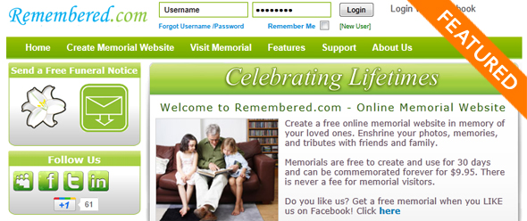Remembered - Startup Featured on StartUpLift