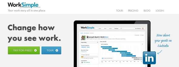 WorkSimple - Startup Featured on StartUpLift