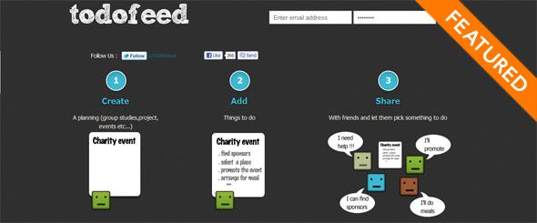 todofeed - startup Featured on StartUpLift