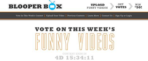 BlooperBox - Startup Featured on StartUpLift for website feedback