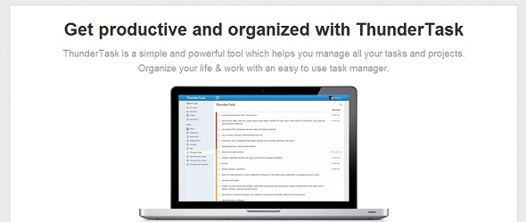 ThunderTask - StartUp featured on StartUpLift for website feedback and Startup Feedback