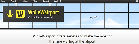 WhileWairport - StartUp featured on StartUpLift for website feedback and Startup Feedback