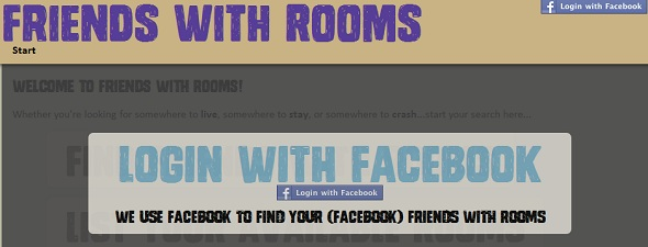 Friends With Rooms - startup featured on startuplift for website feedback and startup feedback